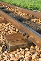 spoorwegvervoer en milieu foto