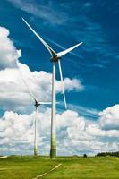 windenergie-installatie foto