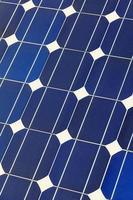 zonnecel batterij paneel foto