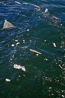vervuiling water foto