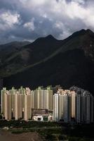 woongebouw in hong kong foto