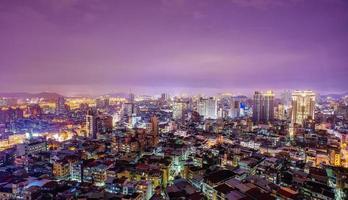 de glanzende stad foto