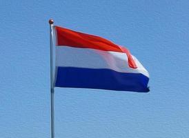 nederlandse vlag foto