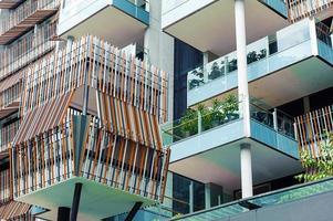 modern condominium foto