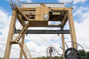 Hydro-elektrische dam foto