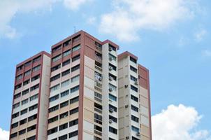 volkshuisvesting in singapore foto