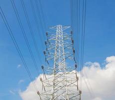 krachtcentrale voor het maken van elektriciteit foto