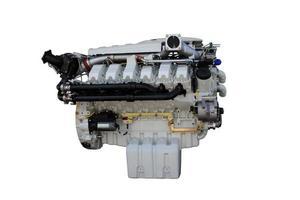 vrachtwagenmotor