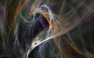 mooie fractal foto