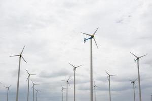 windturbinepark foto