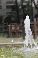 de fontein. foto