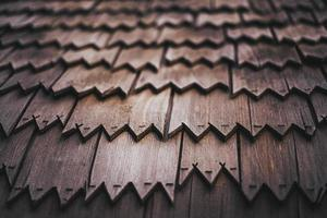 close-up van houten platen foto