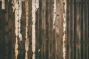 versleten houten hek