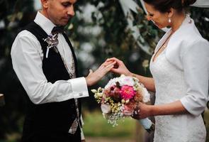 huwelijksceremonie foto