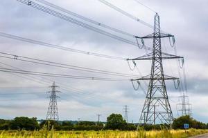 Britse pylonen foto