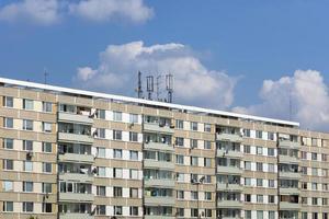 paneel woonwijken in hradec kralove foto