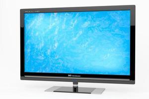 3D-monitor, tv-concept foto