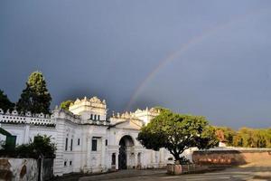het koninklijk paleis van nepal narayanhity in kathmandu foto