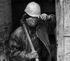 Oekraïense mijnwerker foto