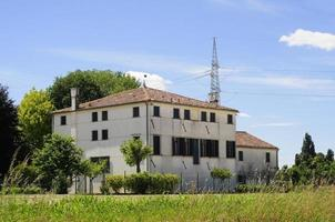 groot landhuis in de buurt van Venetië foto