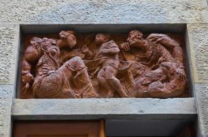 historisch paleis. piacenza. emilia-romagna. Italië. foto