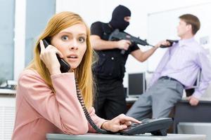 bel de politie foto