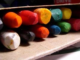 goed gebruikte kleurpotloden