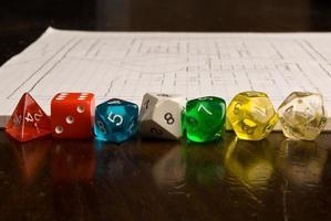 rollenspel game-items foto