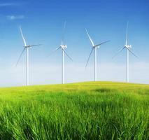 windenergiecentrale foto
