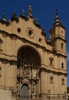 kathedraal, alcañiz, teruel, aragon, spanje foto