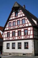 huis in Rothenburg an der Tauber, Duitsland foto