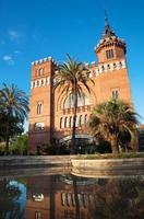 kasteel van de draken, barcelona, Spanje foto