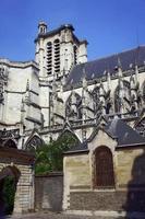 kathedraal in troyes foto