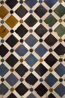 decoratieve keramische tegels foto