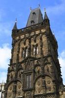 de poedertoren van Praag