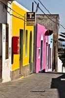 kleurrijke Italiaanse stad foto