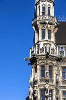 detail van het nieuwe stadhuis van München foto