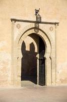 oude Marokkaanse deur foto