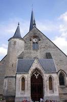 middeleeuwse parochiekerk foto