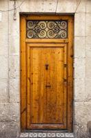 vintage houten deur foto