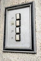 oude deurtelefoon foto