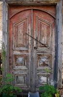vintage deur-kas foto