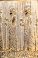 onsterfelijken reliëf detail persepolis foto