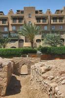 archeologische vindplaats ayla in aqaba, jordanië foto