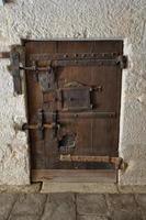 Venetië - middeleeuwse presion gesloten deur foto