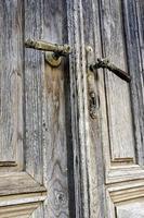 oude deurklinken foto