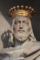 standbeeld in barcelona foto