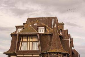 tetti di etretat foto