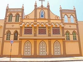 nonnenklooster en klooster ponducherry india foto