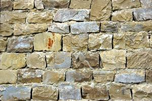 decoratieve oude stenen muur achtergrond foto